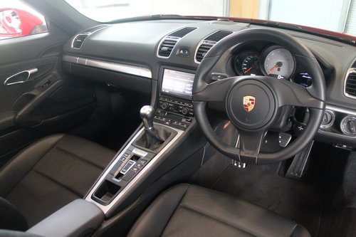 2013/63 Porsche Boxster (981) 3.4 'S' Manual SOLD (picture 5 of 6)