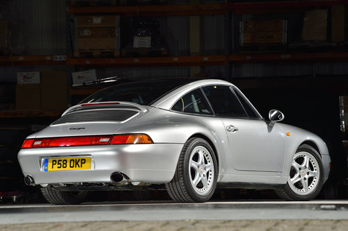 1997 STUNNING 993 TARGA Tiptronic 'S' in excellent condition For Sale (picture 2 of 6)