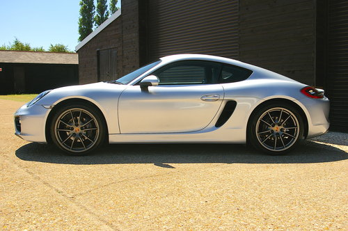 2015 Porsche 981 Cayman 2.7 PDK Auto Coupe (22,723 miles) SOLD (picture 1 of 6)