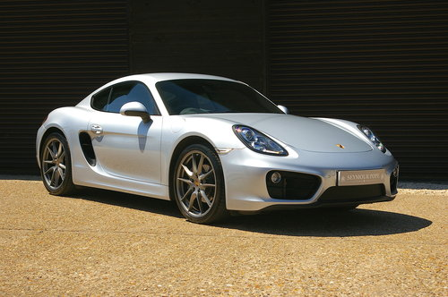 2015 Porsche 981 Cayman 2.7 PDK Auto Coupe (22,723 miles) SOLD (picture 2 of 6)