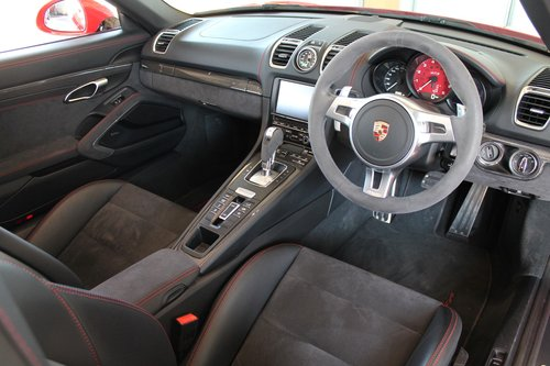2014/64 Porsche Boxster (981) GTS 3.4 PDK SOLD (picture 5 of 6)