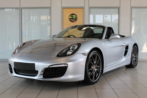 2014/64 Porsche Boxster (981) 2.7 Manual SOLD (picture 1 of 6)