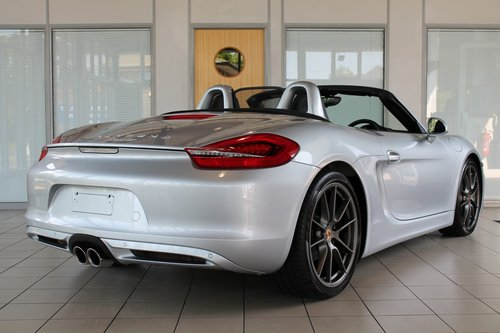 2014/64 Porsche Boxster (981) 2.7 Manual SOLD (picture 2 of 6)