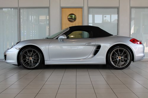 2014/64 Porsche Boxster (981) 2.7 Manual SOLD (picture 3 of 6)