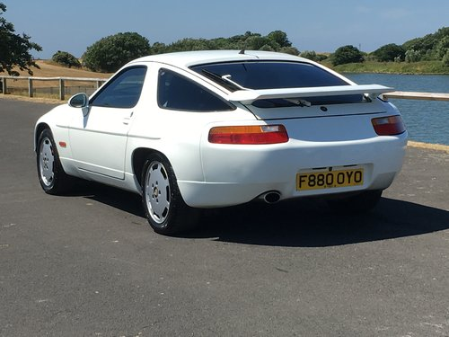 1988 PORSCHE 928 S4 5.0 V8. ONLY 89,000 MILES For Sale (picture 3 of 6)