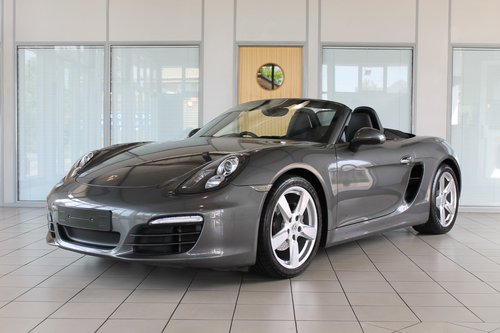 2013/13 Porsche Boxster (981) 2.7 PDK SOLD (picture 1 of 6)
