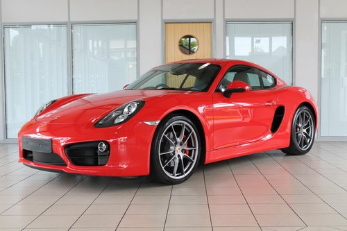 2013/13 Porsche Cayman (981) 3.4 S PDK SOLD (picture 1 of 6)