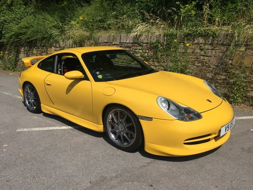 2000 PORSCHE 996 GT3 MK1 For Sale (picture 1 of 6)
