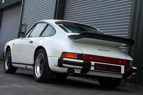 1988 Porsche 911 Carrera 3.2 Sport, White, G50, 116k, FSH. SOLD (picture 4 of 6)