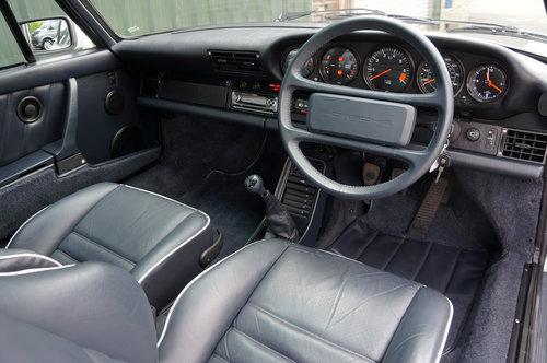 1988 Porsche 911 Carrera 3.2 Sport, White, G50, 116k, FSH. SOLD (picture 5 of 6)