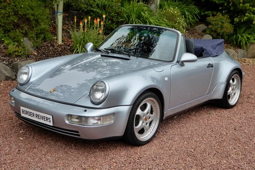 1993 Porsche 911-964 Widebody 1 of only 24 RHD cars made. air con SOLD (picture 1 of 6)
