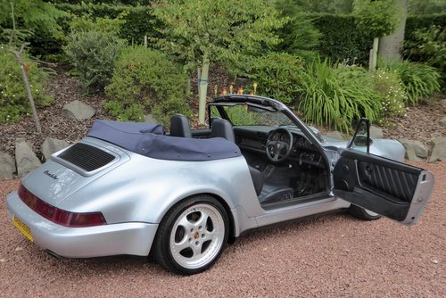 1993 Porsche 911-964 Widebody 1 of only 24 RHD cars made. air con SOLD (picture 3 of 6)