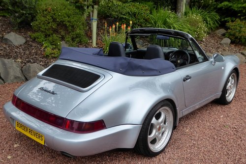 1993 Porsche 911-964 Widebody 1 of only 24 RHD cars made. air con SOLD (picture 4 of 6)