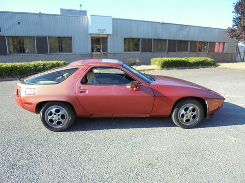 PORSCHE 928 S1 AUTO LHD COUPE(1983) MET RED 99% RUSTFREE  For Sale (picture 2 of 6)