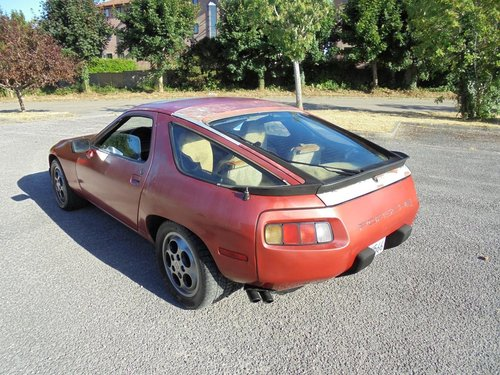 PORSCHE 928 S1 AUTO LHD COUPE(1983) MET RED 99% RUSTFREE  For Sale (picture 4 of 6)