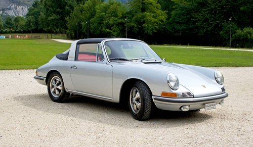 1967 Porsche 911 Soft Window Targa -Porsche certification- For Sale (picture 2 of 6)