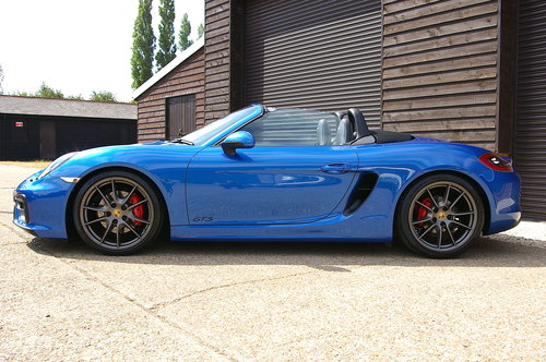 2014 Porsche 981 Boxster 3.4 GTS Manual (10,123 miles) SOLD (picture 1 of 6)
