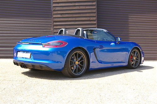 2014 Porsche 981 Boxster 3.4 GTS Manual (10,123 miles) SOLD (picture 3 of 6)