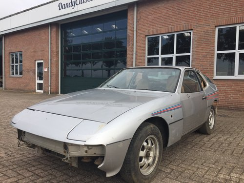 1980 Porsche 924 targa LHD project car SOLD (picture 1 of 6)