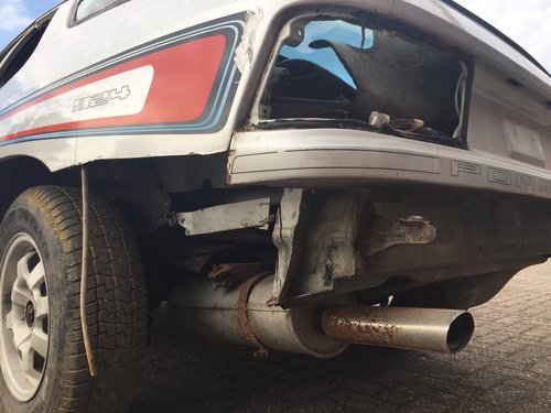1980 Porsche 924 targa LHD project car SOLD (picture 6 of 6)