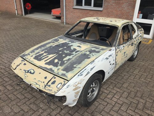 1980 Porsche 924 2.0 LHD project car For Sale (picture 1 of 6)