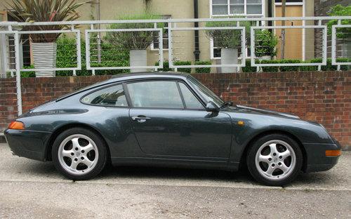 1995-PORSCHE 911 (993) CARRERA COUPE MANUAL  For Sale (picture 3 of 6)
