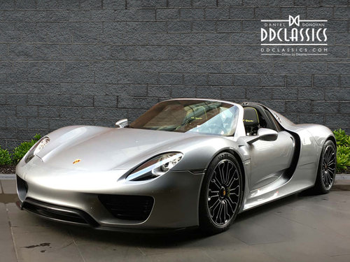 2015 Porsche Spyder LHD For Sale (picture 1 of 6)