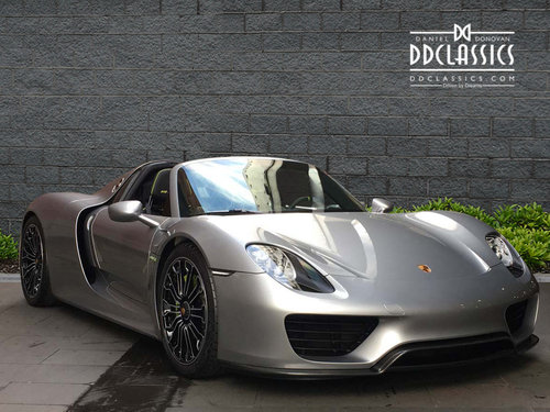 2015 Porsche Spyder LHD For Sale (picture 2 of 6)