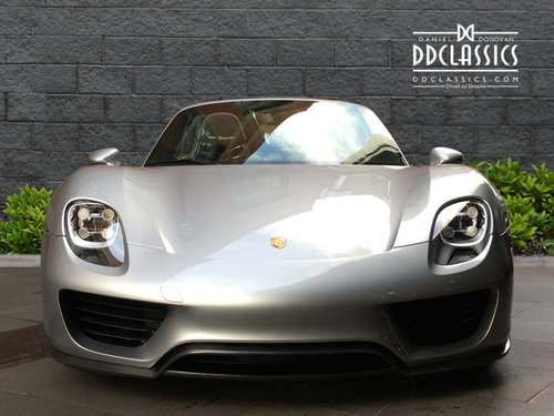2015 Porsche Spyder LHD For Sale (picture 3 of 6)
