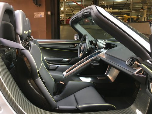 2015 Porsche Spyder LHD For Sale (picture 5 of 6)