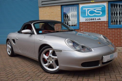 2001 Porsche Boxster S 3.2 Tips-S £9k of factory options! For Sale (picture 1 of 6)