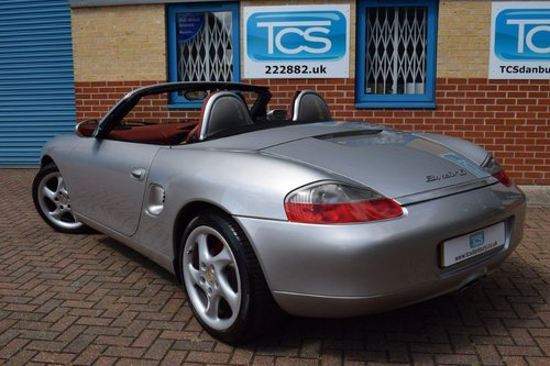 2001 Porsche Boxster S 3.2 Tips-S £9k of factory options! For Sale (picture 3 of 6)