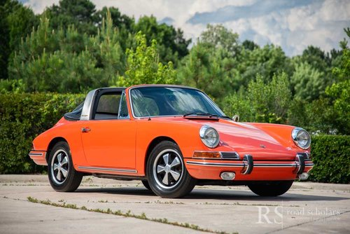 1968 912 Soft Window Targa For Sale (picture 1 of 6)