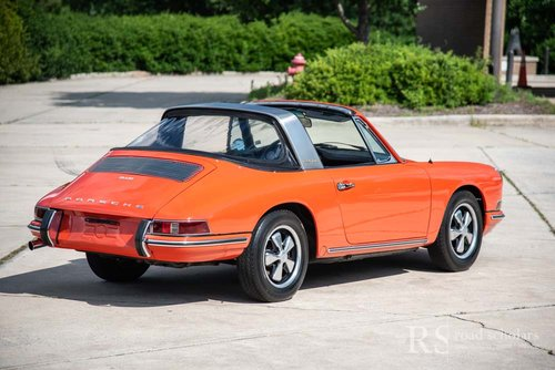 1968 912 Soft Window Targa For Sale (picture 4 of 6)