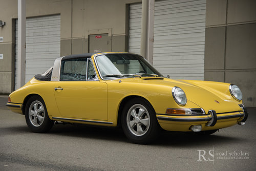 1967 PORSCHE 911S TARGA For Sale (picture 1 of 6)