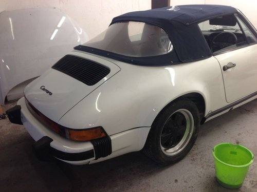 1975 Porsche 911sc 3.2 convertible For Sale (picture 6 of 6)