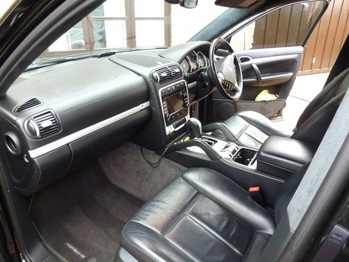 2008 PORSCHE CAYENNE (9PA) TURBO  4.8ltr For Sale (picture 5 of 6)