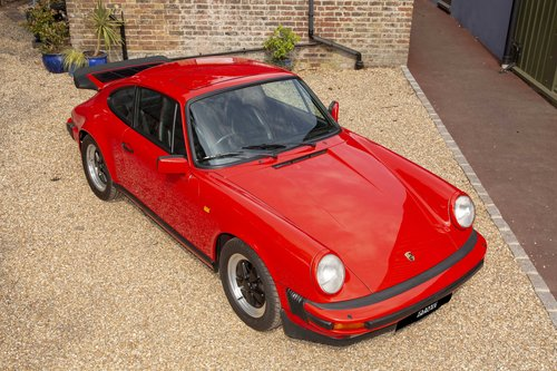 1986 Porsche 911 3.2 Carrera, Guards Red with only 62,000 Miles For Sale (picture 1 of 6)