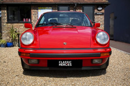 1986 Porsche 911 3.2 Carrera, Guards Red with only 62,000 Miles For Sale (picture 2 of 6)