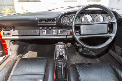 1986 Porsche 911 3.2 Carrera, Guards Red with only 62,000 Miles For Sale (picture 4 of 6)