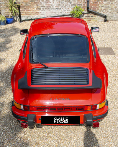 1986 Porsche 911 3.2 Carrera, Guards Red With Only 62,000
