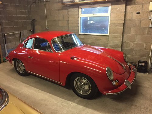 1963 Porsche 356B Coupe S90 SOLD (picture 1 of 5)