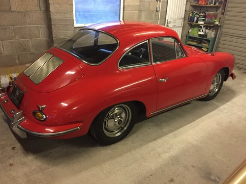 1963 Porsche 356B Coupe S90 SOLD (picture 2 of 5)
