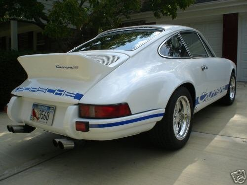 1970 Perfectly restored,original Porsche 911 T.  RS replica. For Sale (picture 2 of 6)