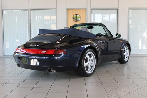 1996 911 (993) Carrera 4 Cabriolet Manual SOLD (picture 2 of 6)