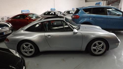 1996 PORSCHE 911 3.6 993 TARGA For Sale (picture 1 of 1)