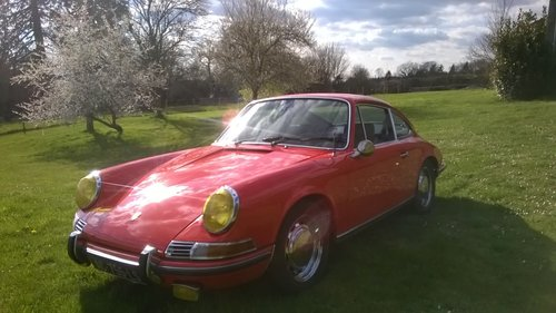Porsche 911T, 1969, Possible swap yacht ?  For Sale (picture 1 of 6)