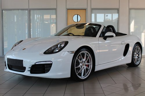 2012/62 Porsche Boxster (981) 3.4 'S' PDK SOLD (picture 1 of 6)