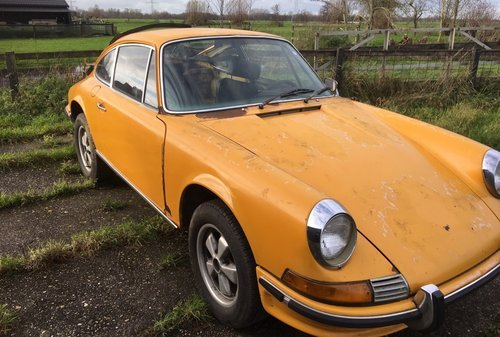 PORSCHE 911 2,4T  1972  lhd  Coupe  ROLING CHASSIS oil tap  For Sale (picture 1 of 6)