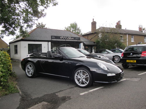 2010 Porsche 911 (997) Carrera 2 PDK Gen 2 Convertible Sat-Nav For Sale (picture 1 of 6)